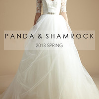 Royalty/wedding gown/women clothing/bridal by pandaandshamrock