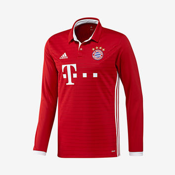 FC Bayern Munich 2016-17 Long-Sleeve Home Jersey