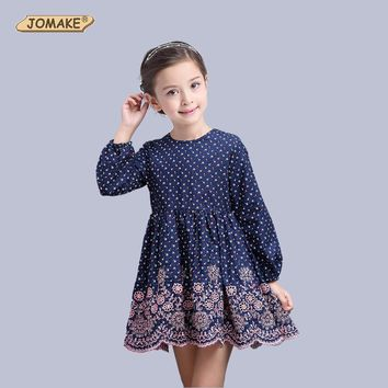 Flower Girls Dress Spring 2017 Children Clothing Brand Girls Clothes Kids Dresses for Girls Holiday Party Princess Dress Toddler