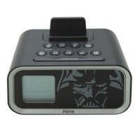 Star Wars iHome Darth Vader Dual Alarm Clock Speaker System