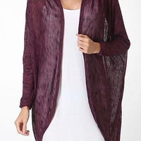 Dancing Plum Cardigan