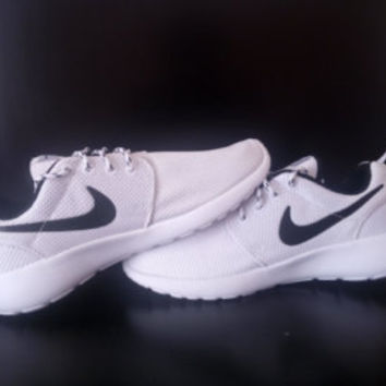 custom nike roshe run sneakers athletic running womens shoes as is or  blinged with swarovski rhinestones 2f1fd1373c