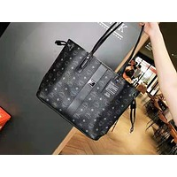 MCM fashion hot seller printed two-piece one-shoulder bag for women