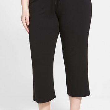 Plus Size Women's DKNY 'Urban Essentials' Capri Pants,