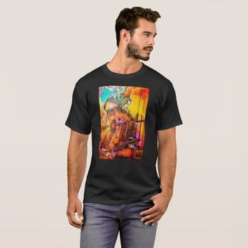 colorful skate design T-Shirt