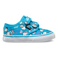Vans Toddlers Atwood V (Heart Kitty blue atoll/pink)
