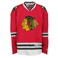 Rebook Chicago Blackhawks Mens Premier Home Jersey - Red