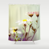 Blush Shower Curtain by Sandra Arduini