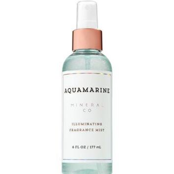 Bath & Body Works AQUAMARINE Illuminating Fragrance Mist 6 oz