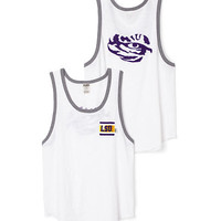 Louisiana State University Bling Boyfriend Pocket Tank - PINK - Victoria's Secret