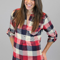 Lumberjack Blouse - Red