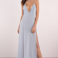 Khloe Plunging Maxi Dress