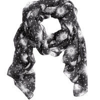 Printed Scarf - from H&M