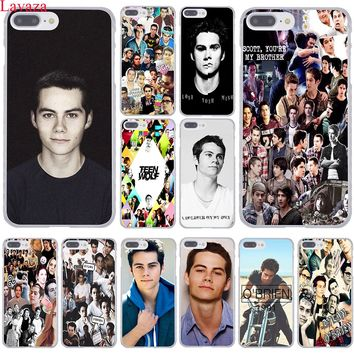 Lavaza Dylan O'Brien Teen Wolf cool Hard Coque Shell Phone Case for Apple iPhone 8 7 6 6S Plus X 10 5 5S SE 5C 4 4S Cover
