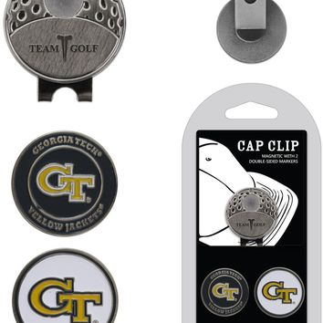 NCAA Georgia Tech Yellow Jackets Hat Clip & 2 Magnetic Golf Ball Markers