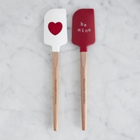 Heart & Be Mine Mini Spatulas, Set of 2