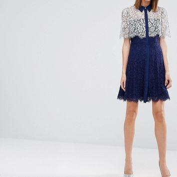 Whistles Charlotte Lace Dress