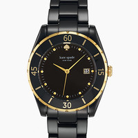 Kate Spade Large Seaport Grand Black/Gold ONE