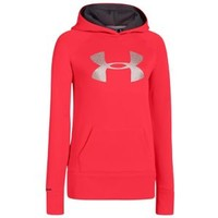 Under Armour Big Logo Armour Fleece Hoodie - Girls' Grade School
