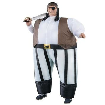 ONETOW Stag night Halloween costume cosplay Adult costumes Fancy Dress Inflatable Sumo Pirates of the Caribbean sexy anime suit