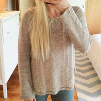 Pine Cone Stitch Sweater