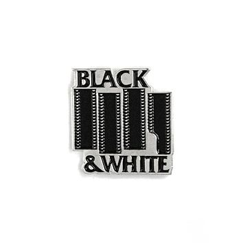 Black & White Film Pin