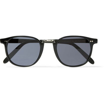 Cutler and Gross - Round-Frame Acetate Sunglasses | MR PORTER
