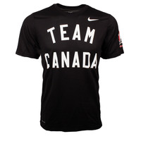Team Canada IIHF Dri-FIT Legend T-Shirt (Black)