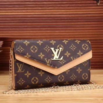 Louis Vuitton Women Fashion Leather Satchel Tote Shoulder Bag Crossbody