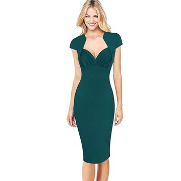Chicloth Impossible Cap Sleeve Bodycon Dress