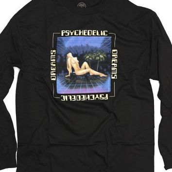 Psychedelic Dreams Long Sleeve Tee