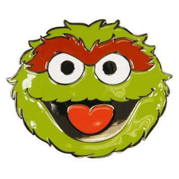 Sesame Street - Oscar The Grouch Belt Buckle