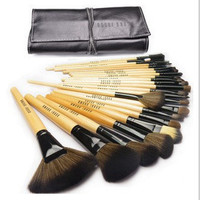 24pcs/lot Professional Makeup Brush Set Brush Tools Make-up Brush Set Tools with leather case [6411932548]