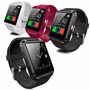2017 NEW Arrival Bluetooth Smart Wrist Watch Phone Camera Card Mate for Android XIAOMI SAMSUNG Smart Phone Drop Shipping