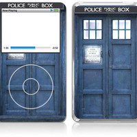 Apple iPod Classic Skin Cover  Police Public Call by skunkwraps