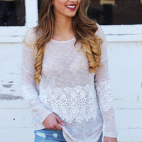 Crochet Kind Of Day Lightweight Knit