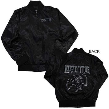 Led Zeppelin Icarus Juniors Satin Jacket