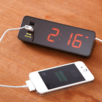 LED Clock with USB by Idea for Idea International - Free Shipping