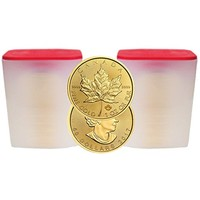 2017 CA Lot of 500 - $50 Gold Canadian Maple Leaf .9999 1 oz. (Brilliant Uncirculated) Monster Box $50 Brilliant Uncirculated