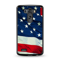 American Flag For LG G3 Case