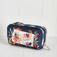 Travel Flower Patch Things Up Pouch by LeSportsac from ModCloth