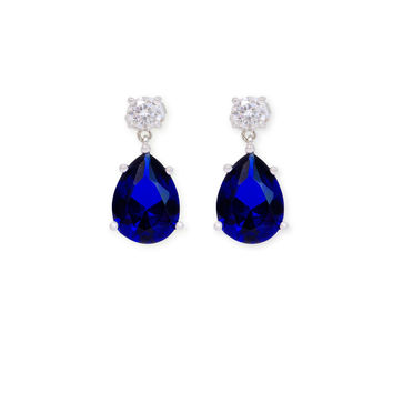 Kenneth Jay Lane Blue Skies Drop Earrings