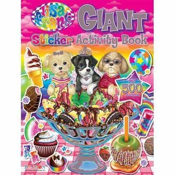 Lisa Frank Giant Sticker Book