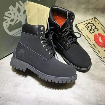 CREYUIB Timberland classic Color Black Men Women Sneakers Boots