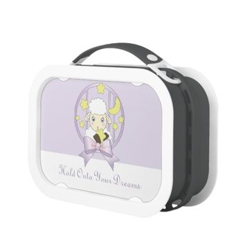 Hold Onto Your Dreams - Cute Lamb, Moon, and Stars Yubo Lunch Box
