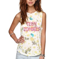 Afends Kids These Days Muscle Tank - Womens Tee - Yellow -