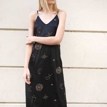 """Constellation"" Midi Dress"