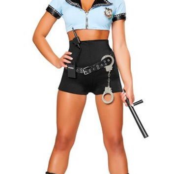 Sexy Police Woman Costume