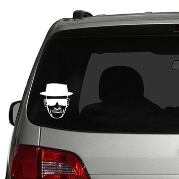 Breaking Bad Heisenberg Walter White Car Decal Sticker