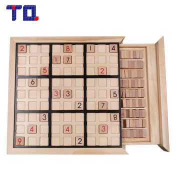 TQ Brand Nine Sudoku Number Game Puzzles for Kids Adult Math Toys Jigsaw Puzzle Table Game Children Learning Educational Toys
